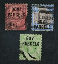 Ckstamps: Great Britain Stamps Collection Scott#O34 O35 O36 Used #O36 Crease