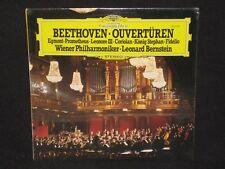BERNSTEIN / WIENER PHIL ~ Beethoven: Ouverturen Overtures (SEALED) ~ GRAMMOPHON