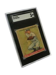1933 Goudey Moe Berg #158 SGC 3.0 VG Card