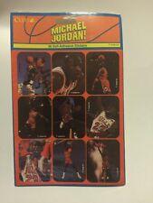 MICHAEL JORDAN Chicago Bulls CLEO 36 STICKERS Vintage Basketball BRAND NEW
