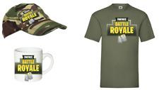 GAMING BATTLE ROYALE FORTNITE  T shirt/CAP/MUG   AGE 5-14 BOYS AND GIRLS