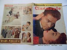 CINEMONDE N°1066 7/1/1955 M.MAUBAN AUMONT V.MATURE MARIANO BRANDO DARRIEUX  K10
