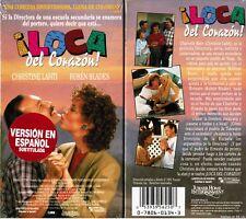 Loca Del Corazon VHS Video Tape New Spanish Subtitled Christine Lahti
