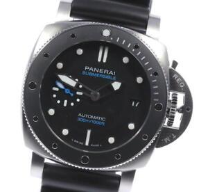 PANERAI Submersible PAM00683 black Dial Automatic Men's Watch_623383