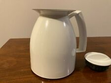 New listing Krups Vacuum Coffee Pot - White - 10 Cups