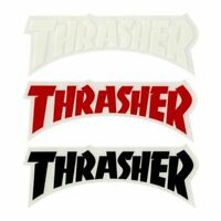 "Thrasher Magazine Die Cut Logo Sticker 5"" Skateboard Decal 3 Color Choices"