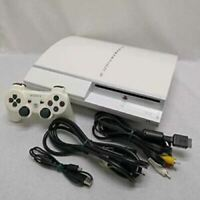 PLAYSTATION 3 (80GB) Ceramic White PS3 SONY Japan game Console SONY CECHH00