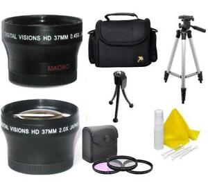 Accessory Kit For Panasonic Lumix DMC-GX85, DC-GX850 w/ 12-32mm lens Kit