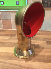 Vintage Brass Ships Dorade Air Vent Cowl Maritime Marine Nautical Boat