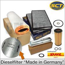 BMW 5er E60 E61 525d 530d   Inspektionspaket Filterset Filtersatz Filter 4-tlg.