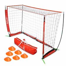 GoSports 6' ELITE Soccer Goal - Includes 1 6' Goal, 6 Cones & Carrying Case