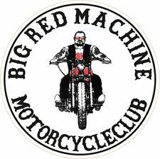 "043d HELLS ANGELS Support 81 Sticker Aufkleber ""Big Red Machine Motorcycleclub"