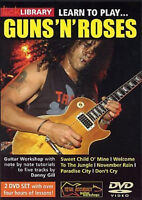LEARN TO PLAY GUNS AND 'N' ROSES Step by Step DVD Lick Library Music Guitar UK