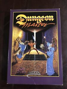 Vintage ATARI ST Dungeon Master FTL Game Plus Extra Disk And Hint Book
