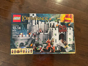 Lego The Lord of the Rings The Battle of Helm's Deep (9474) Used with Box