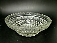 Anchor Hocking Soup Cereal Salad Bowl Wexford Pressed Pattern Glass Vintage