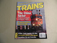 Trains Magazine / August 2006 / Free Domestic Shipping