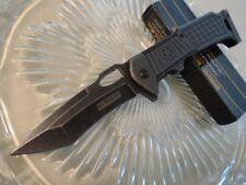TF841 Couteau Tactical Urban Tanto Tac Force A/O Lame Acier 440 Manche Acier