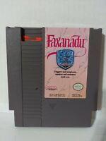 Faxanadu (Nintendo Entertainment System, 1989) Cartridge Only Tested Free Ship!