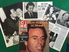 SF29 Clipping Ritaglio Picture presse (1982) 33x26cm 5 pag - JULIO IGLESIAS
