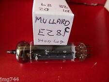 EZ81 MULLARD  MODERN LOGO C  NEW OLD STOCK  VALVE TUBE  MA15