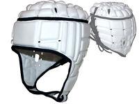 adidas Rugby Kopfschutz weiß Rugby Headguard Schoner Schutz für den Kopf S - L