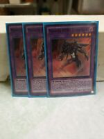 3x Masked HERO Dark Law 1st Edition Super Rare SDHS-EN044 Yu-Gi-Oh! PL
