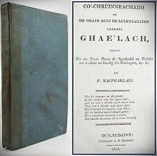 1813*SCOTTISH GAELIC POEMS*SONGS*HOMER'S ILIAD*CALGACUS'S SPEECH TO CALEDONIANS*