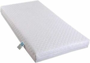 baby Hypoallergenic Baby & Toddler Quilted Cover Ultra Thick COT BED mattress