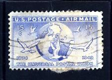 USA - STATI UNITI - 1949 - Posta aerea: 75° anni dell'Unione postale universale