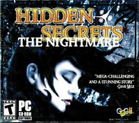 Hidden Secrets: The Nightmare Pc New 30 Brain Teaser Games 20 Stunning Puzzles