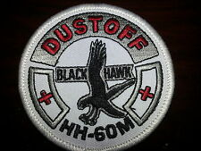 HH-60M DUSTOFF Black Hawk Patch / NEW / Smaller Size