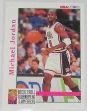 1992/93 Michael Jordan USA Basketball Hoops Tournament of Americas Card #341 NM