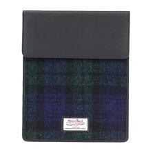 Harris Tweed IPad Tablet Case black watch tartan NEW  25151