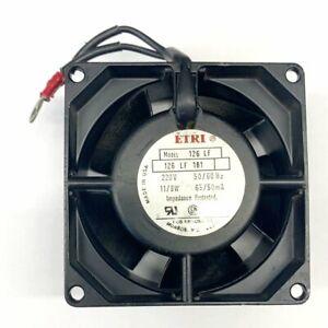 ETRI 126LF-0181-000 80mm x 80mm x 38mm, 220V AC Cooling Fan ~ 32 CFM