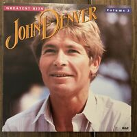 John Denver Greatest Hits Vol 3 - 1984 RCA Records Vinyl LP AJL1-5313