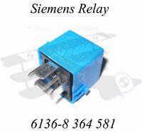 BMW Relay - 6136-8 364 581 - Genuine Siemens