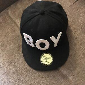 BOY London Black OG Snapback Cap