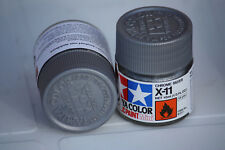 Tamiya Peinture Pot 10cl X11 Chrome Silver