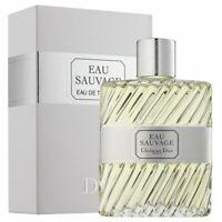 Christian Dior Eau Sauvage Edt Eau de Toilette Spray for Men 200ml