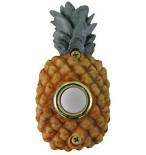 Surface Mount Push Button Doorbell Painted Pineapple Colorful Poly-resin