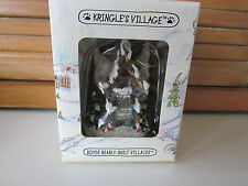 Boyds Kringle Village Ornament-Mooselfluff's Ski Chalet