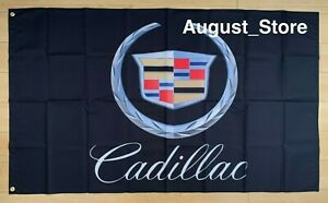 Cadillac 3x5 ft Flag Car Garage Banner Escalade XT6 CT5