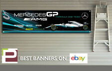 Mercedes Petronas GP F1 Team 2017 Banner, Garage, Workshop, AMG, Lewis Hamilton