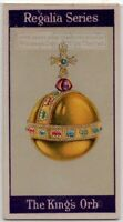 King's Orb Crown Jewels of the United Kingdom 1920s  Trade Ad Card