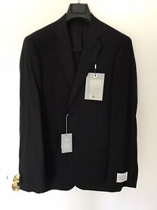 Trenery Men Classic Performance Suit Jacket Black New (40)