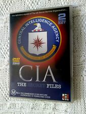 CIA - THE SECRET FILES – DVD, 2-DISC SET, R-4, LIKE NEW, FREE POST IN AUSTRALIA