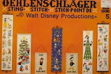 Oehlenschlager Disney Cross Stitch book - Christmas and more