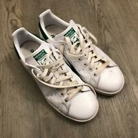 Adidas Stan Smith Shoes White/Green B24105 Mens Size 9.5 US