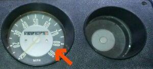 CLASSIC VW T2 BAY WINDOW BUS VAN CAMPER REPLACEMENT SPEEDO GLASS LHD+RHD GENUINE